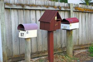 Letterboxes CC by Flickr.com user Cheryl Harvey
