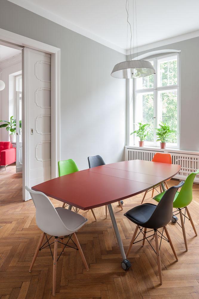 Der Meeet-Meeting Raum