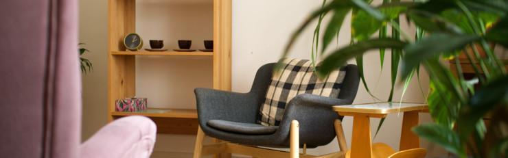 Gartenraum - ein kleiner Therapieraum in Wilmersdorf