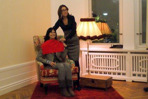 Maria Richter berät zu Stil- und Ausdruck