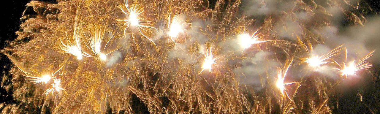 Wir feiern das neue Jahr in Meeet
