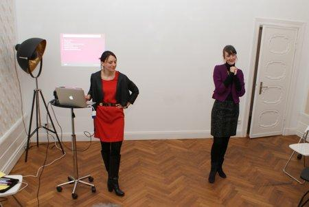 Madeleine Yoran und Sabine Zelm