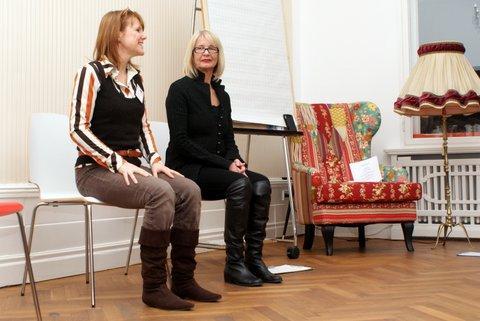 Carola Hinz und Sylvia von Froreich