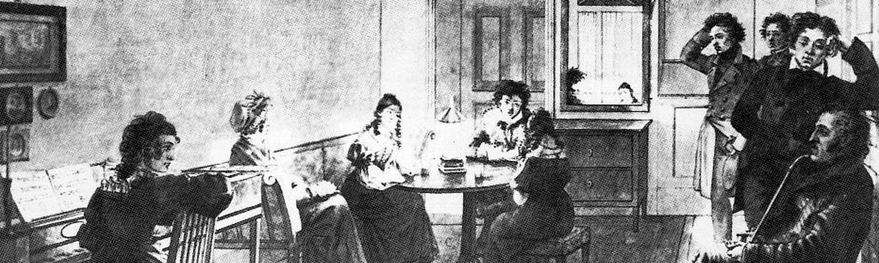 Ein literarisch-musikalischer Salon
