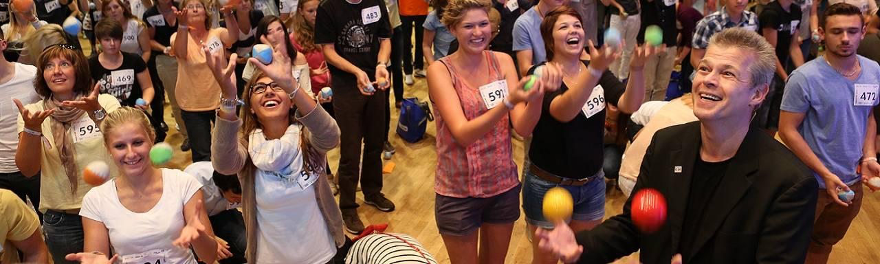 Jonglierbälle wirksam für Lernmotivation und Lernerfolg einsetzen