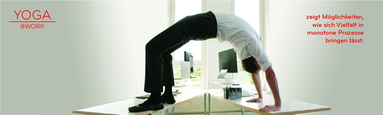 YOGA@Work – stärkt den Rücken für die Arbeit