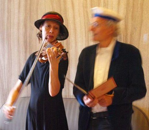 mit Waltraut Elvers und Detlef Seydel