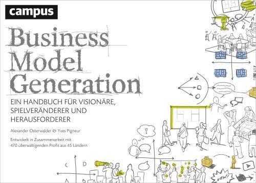 Cover des Buchs Business Model generation von Alex Osterwalder et.al. im Campus Verlag erschienen