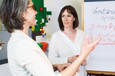 Rhetorik Training mit Beatrix Schwarzbach in Berlin - speziell für Frauen