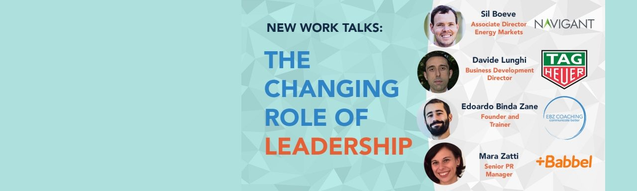 New Work Talks – The Changing Role of Leadership