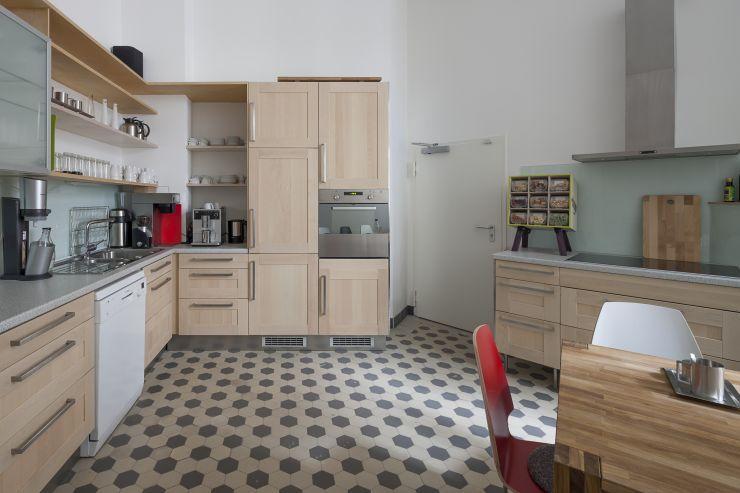 Die Meeet-West Küche im Workshophaus Berlin Wilmersdorf