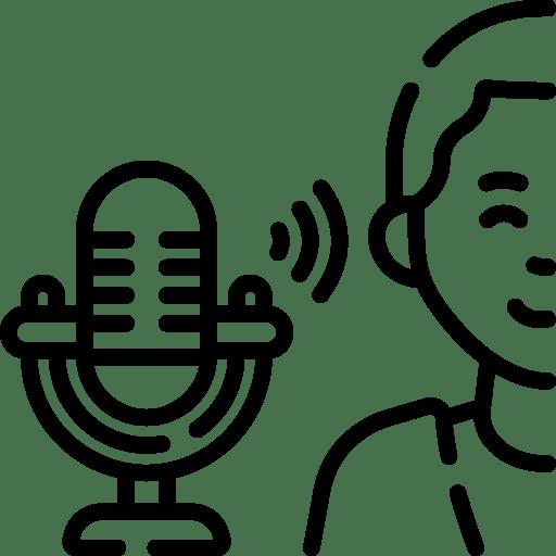 Studio für Podcast